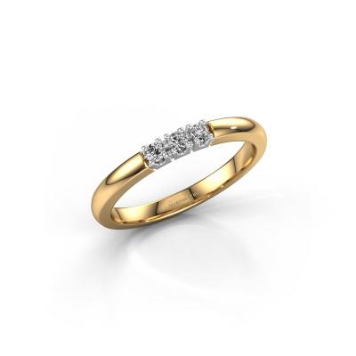 Bild von Verlobungsring Rianne 3 585 Gold Diamant 0.450 crt