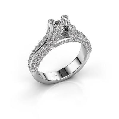 Foto van Verlovingsring Stefanie 2 585 witgoud diamant 1.50 crt