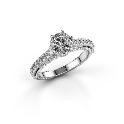 Picture of Engagement ring Venita 925 silver lab grown diamond 1.345 crt