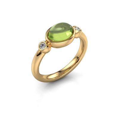 Ring Liane 585 gold peridot 8x6 mm