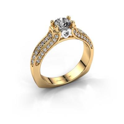 Verlovingsring Marion 585 goud diamant 0.906 crt