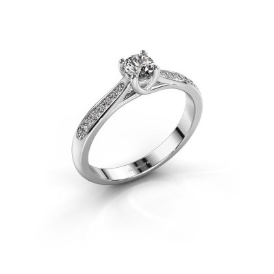 Foto van Verlovingsring Mia 2 585 witgoud lab-grown diamant 0.30 crt