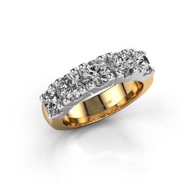 Aanzoeksring Rianne 5 585 goud diamant 2.50 crt