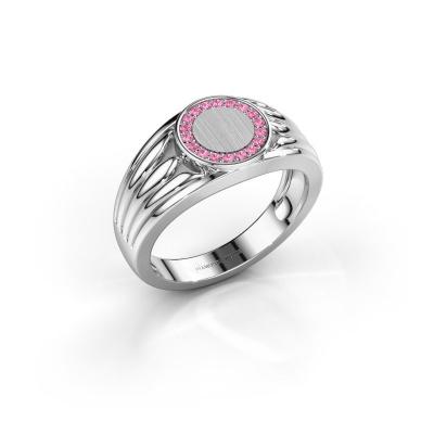 Pinky Ring Jacobus 925 Silber Pink Saphir 1.2 mm