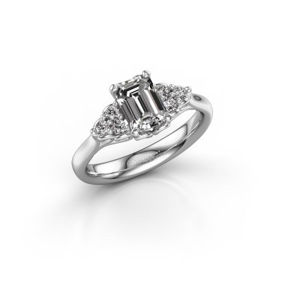 Picture of Engagement ring Myrna EME 585 white gold diamond 1.300 crt