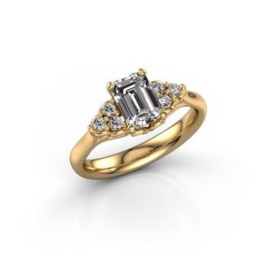 Foto van Aanzoeksring Myrna EME 585 goud diamant 1.300 crt