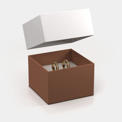 Giftbox wedding rings 1