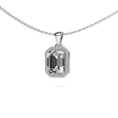 Foto van Ketting Dodie 585 witgoud lab-grown diamant 2.65 crt