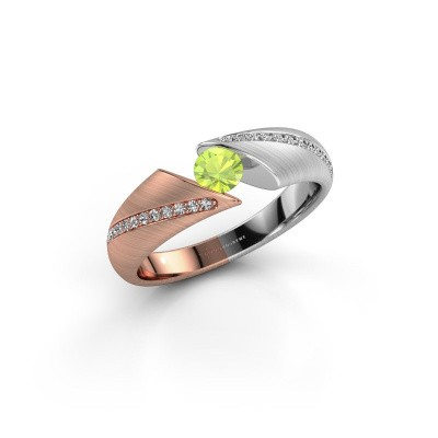 Picture of Ring Hojalien 2 585 rose gold peridot 4 mm