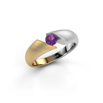 Foto van Ring Hojalien 1 585 goud amethist 4.2 mm