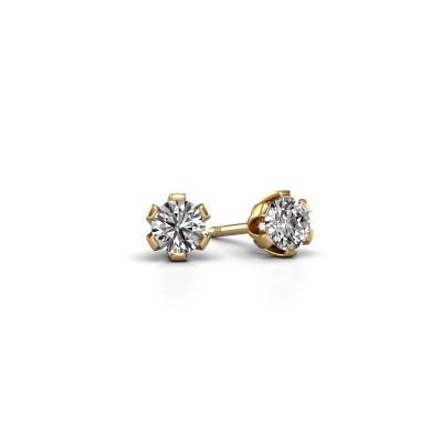 Foto van Oorstekers Julia 585 goud lab-grown diamant 0.25 crt