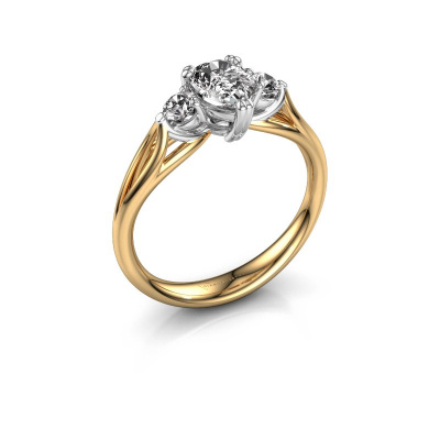 Foto van Verlovingsring Amie per 585 goud lab-grown diamant 0.85 crt
