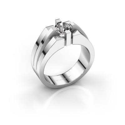 Foto van Heren ring Kiro 585 witgoud diamant 1.00 crt
