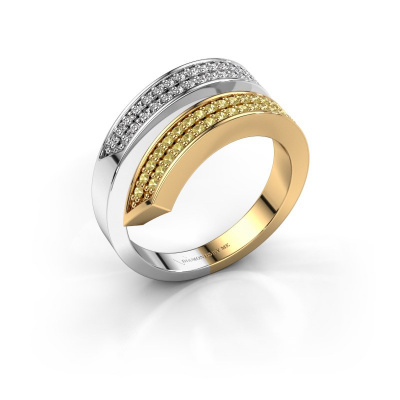 Ring Pien 585 gold yellow sapphire 1.2 mm
