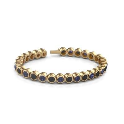 Tennisarmband Delma 375 goud saffier 5 mm
