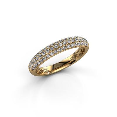 Foto van Ring Emely 2 585 goud zirkonia 1.3 mm