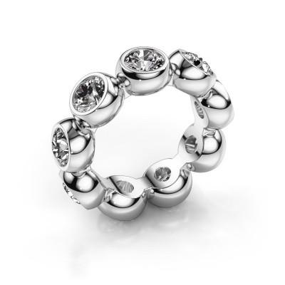 Foto van Ring Renea 375 witgoud diamant 4.50 crt