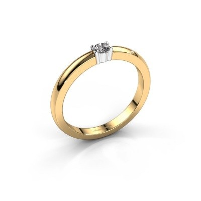Foto van Promise ring Yasmin 1 585 goud lab-grown diamant 0.08 crt