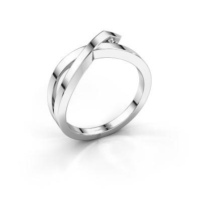 Ring Alyssa 585 Weißgold Lab-grown Diamant 0.03 crt