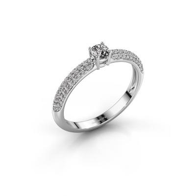 Verlobungsring Marjan 585 Weißgold Diamant 0.460 crt