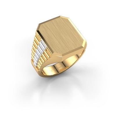 Picture of Signet ring Erik 4 585 gold