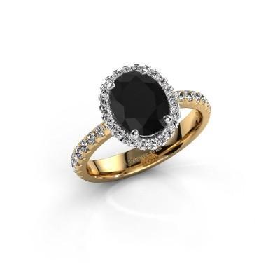 Verlovingsring Lavelle 585 goud zwarte diamant 2.652 crt