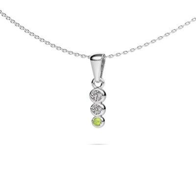 Foto van Hanger Felica 375 witgoud lab-grown diamant 0.135 crt