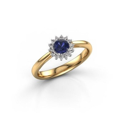 Engagement ring Tilly RND 1 585 gold sapphire 4.2 mm