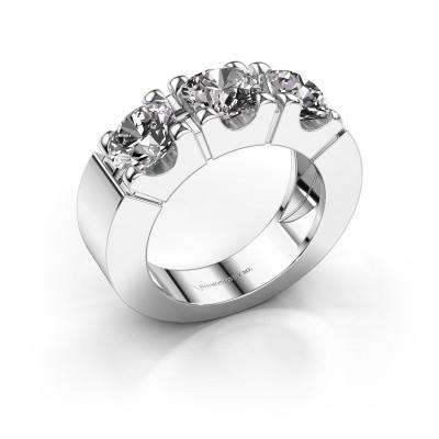 Verlovingsring Dana 3 585 witgoud diamant 0.450 crt