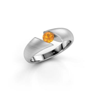 Bild von Ring Hojalien 1 925 Silber Citrin 4.2 mm