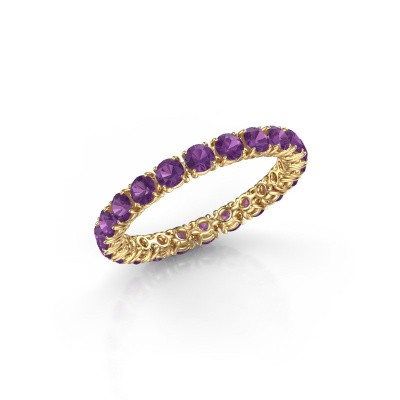 Picture of Ring Vivienne 2.7 375 gold amethyst 2.7 mm