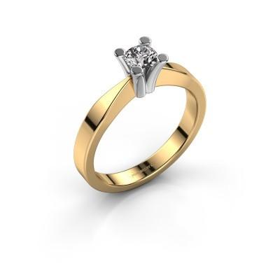 Foto van Verlovingsring Ichelle 1 585 goud diamant 0.30 crt