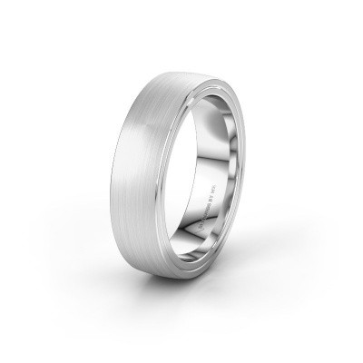 Wedding ring WH2216M26DM 925 silver ±6x2.4 mm