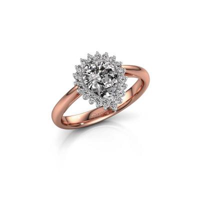 Foto van Verlovingsring Tilly per 1 585 rosé goud lab-grown diamant 0.95 crt