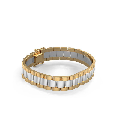 Picture of Bracelet erik 12 mm 585 white gold ±12 mm