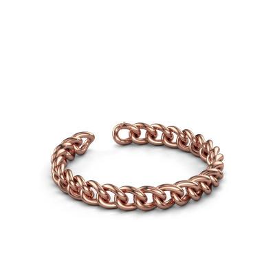 Foto van Cuban armband ±9 mm 585 rosé goud