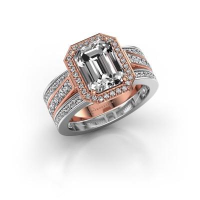 Foto van Ring Dodie 3 585 rosé goud lab-grown diamant 3.49 crt