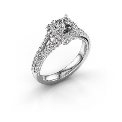 Picture of Engagement ring Annette 585 white gold diamond 1.072 crt
