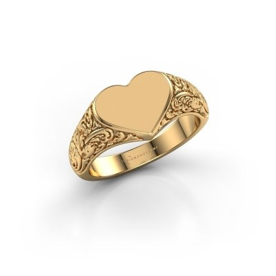 Picture of Signet ring Jaye 375 gold