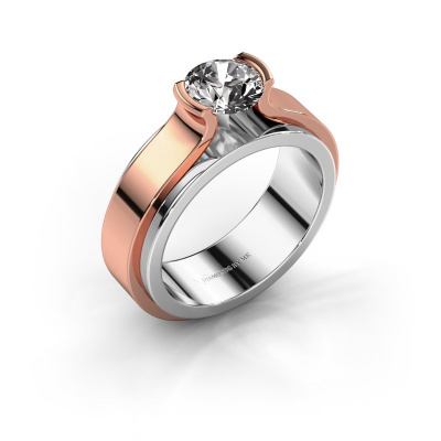 Verlobungsring Jacinda 585 Weißgold Diamant 1.00 crt