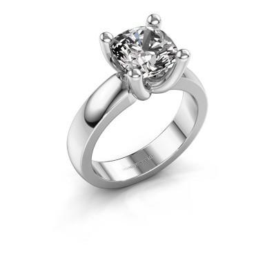 Ring Clelia CUS 950 platina diamant 3.60 crt