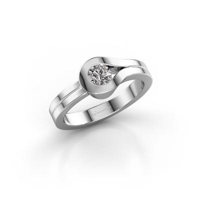 Ring Kiki 925 silver diamond 0.30 crt