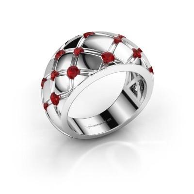 Ring Imke 925 Silber Rubin 2.5 mm