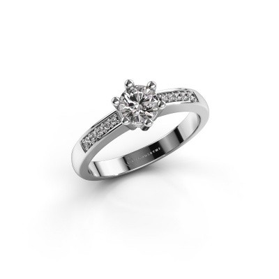 Foto van Verlovingsring Luna 2 585 witgoud lab-grown diamant 0.50 crt