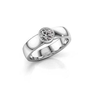 Ring Ise 1 585 white gold diamond 0.50 crt