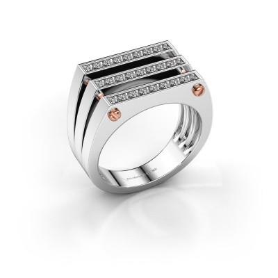 Foto van Heren ring Jauke 585 witgoud lab-grown diamant 0.48 crt