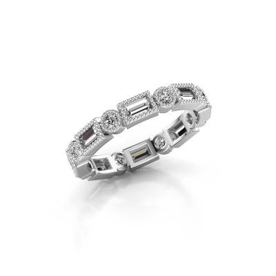 Aanschuifring Tyesha 375 witgoud diamant 1.28 crt