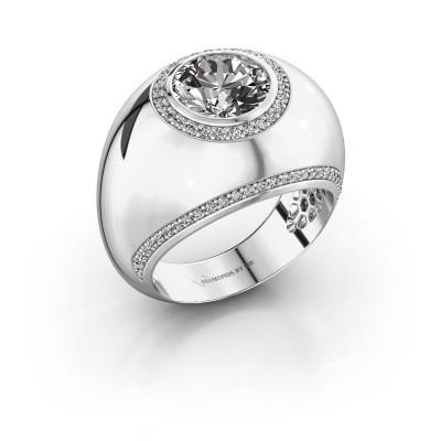Foto van Ring Roxann 925 zilver diamant 2.41 crt