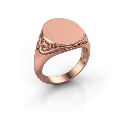 Heren ring Jelle 4 375 rosé goud
