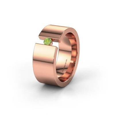 Alliance WH0146L18BP 375 or rose péridot ±8x2 mm